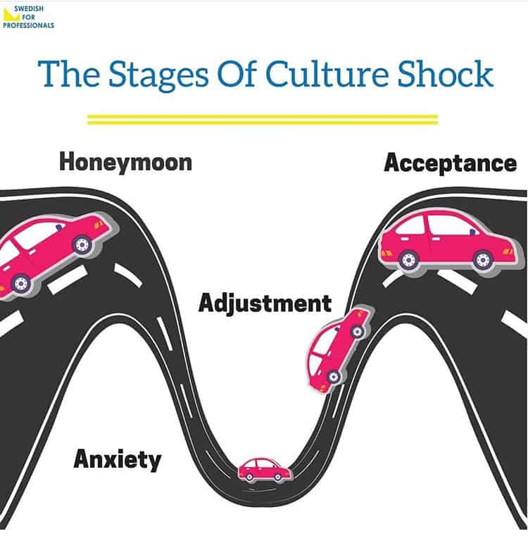 The 4 Stages of Culture Shock - Swedish for Professionals