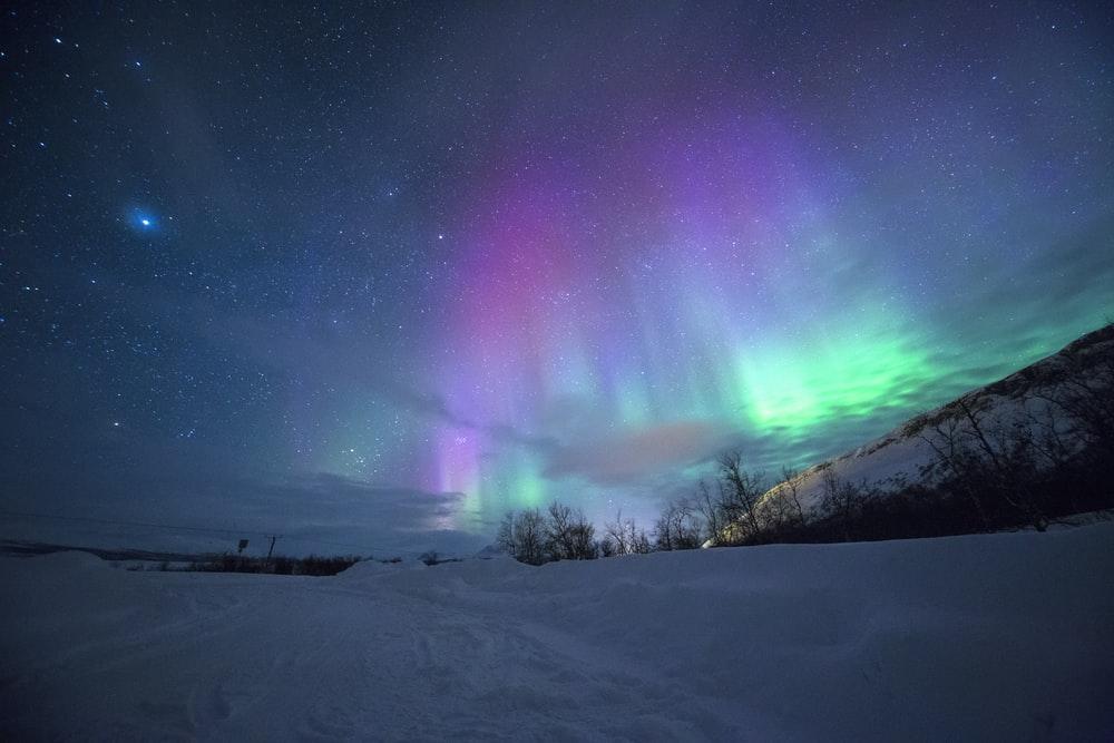 Sweden aurora northern lights