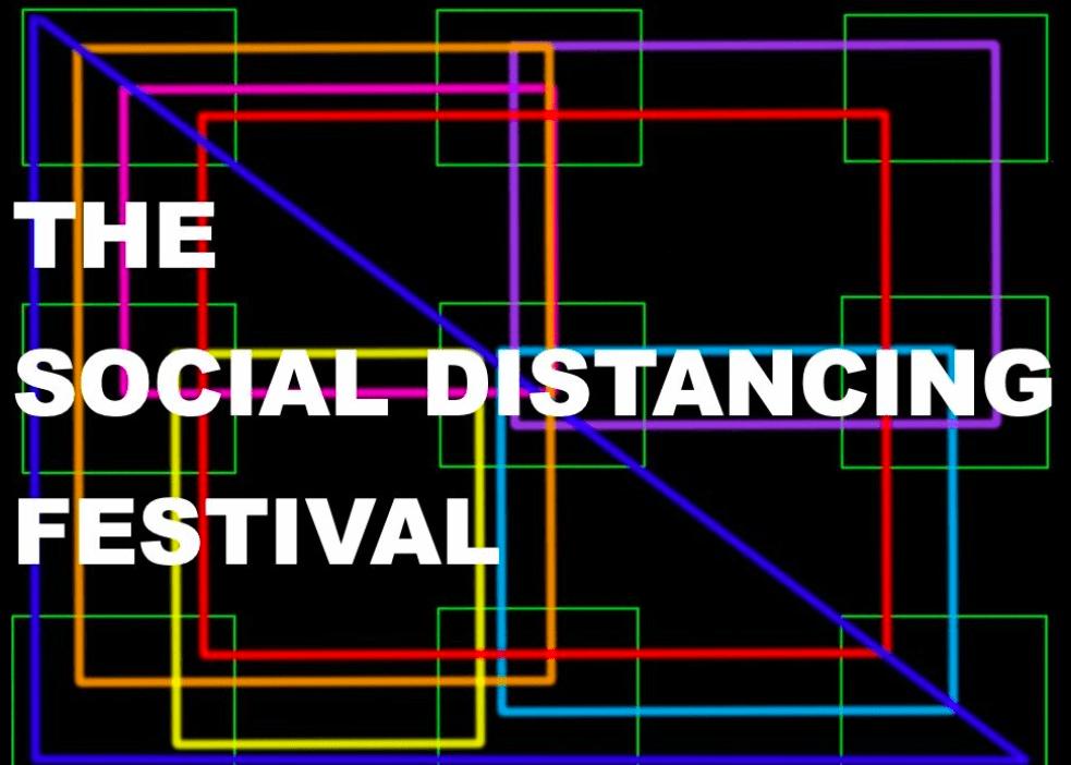 corona socially distancing festival